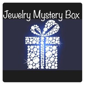 Jewelry - Jewelry mystery box necklace earrings vintage new